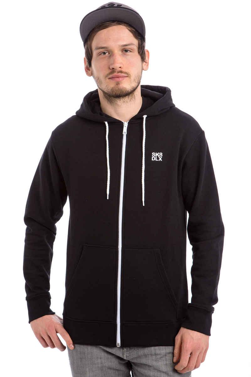 SK8DLX Classic Zip-Sweatshirt avec capuchon (black)