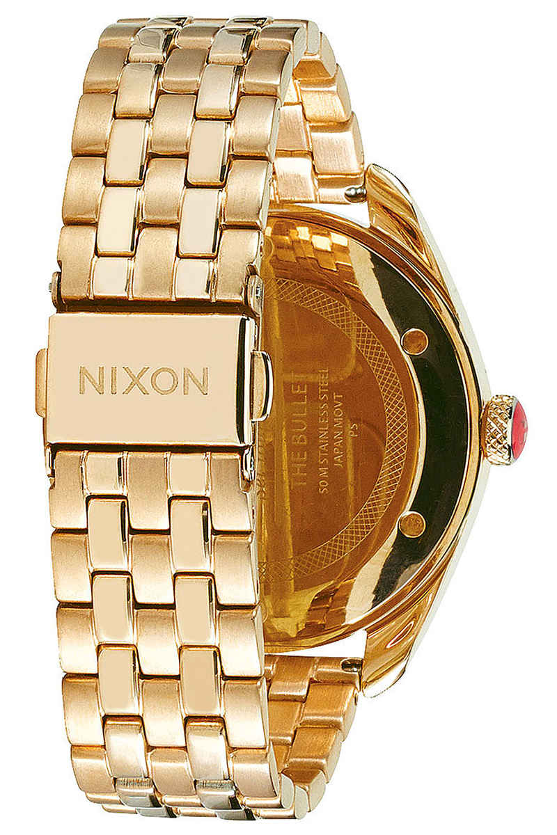 Nixon The Bullet Horloge women (all gold black)