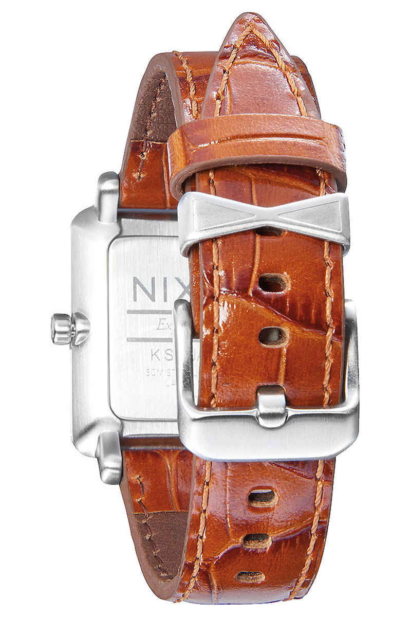 Nixon The K Squared Montre women (silver saddle gator)