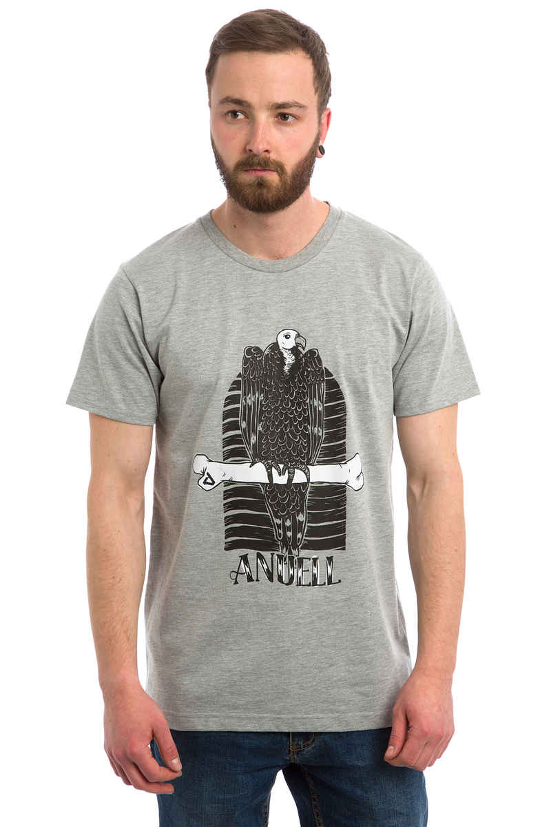 Anuell Leroy T-Shirt (heather grey)