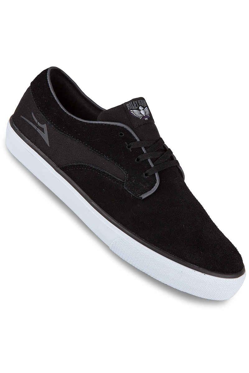 Lakai Riley Hawk Suede Shoes (black)