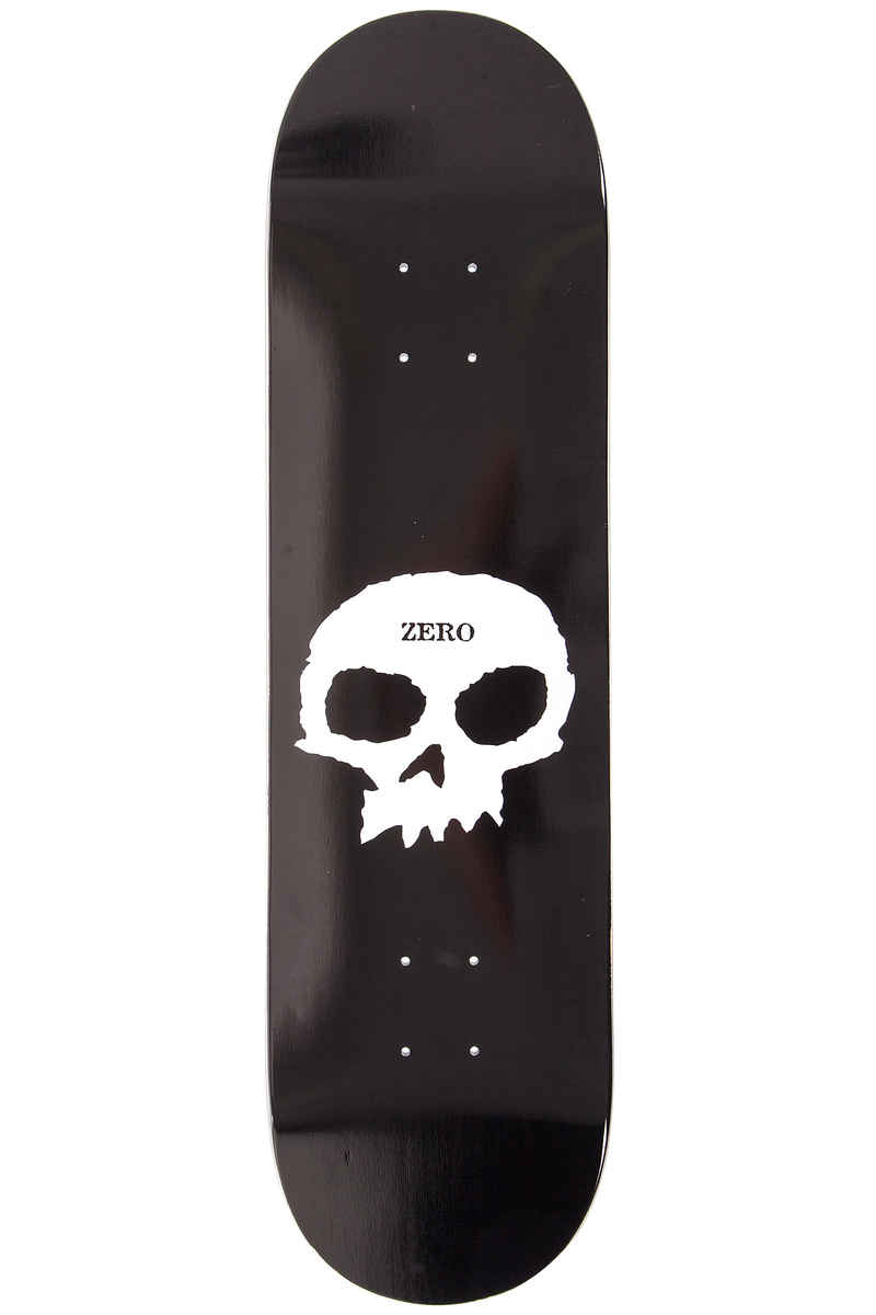 "Zero Team Single Skull 8.25"" Deck (black)"