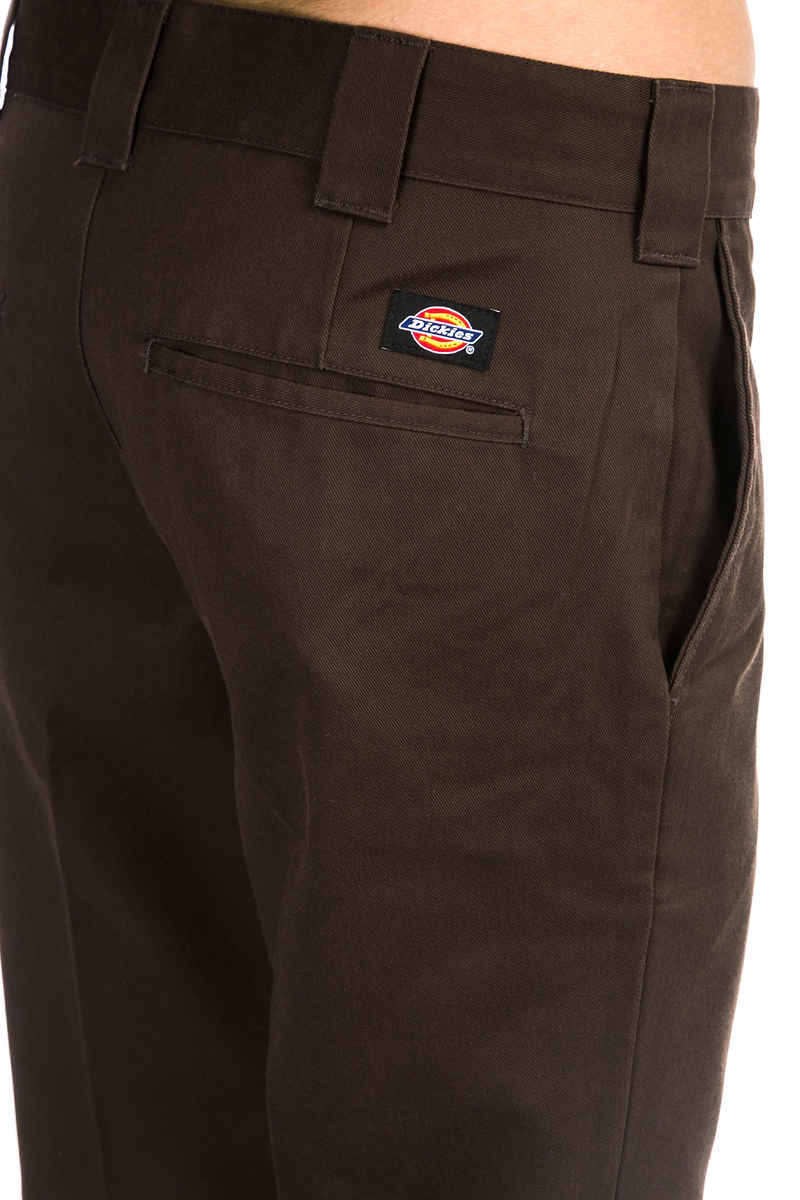 Dickies Slim Fit Work Hose (chocolate brown)