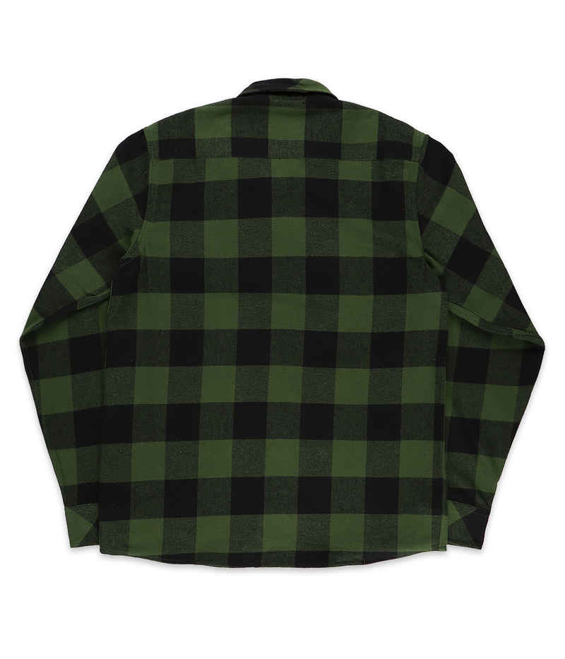 Dickies Sacramento Flannel Shirt (pine green)