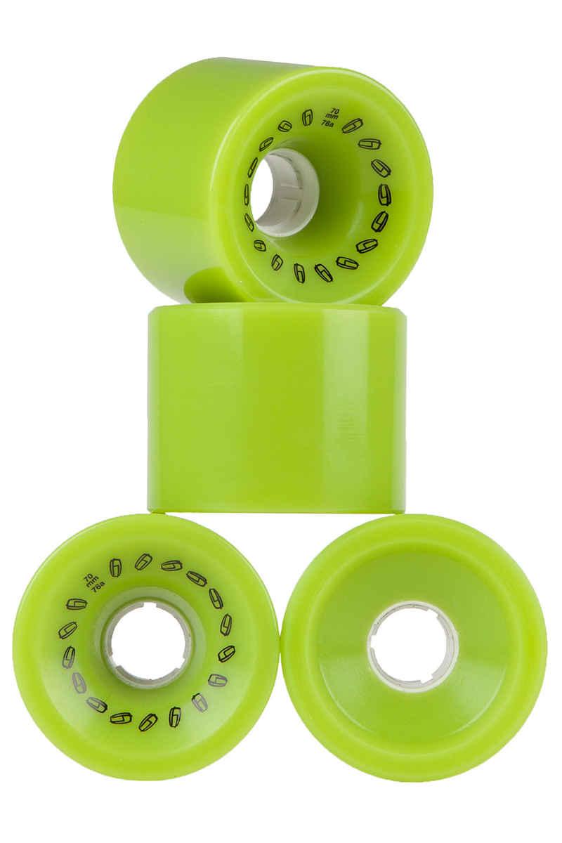 Olson&Hekmati Grip 70mm 76A Wheels (green) 4 Pack