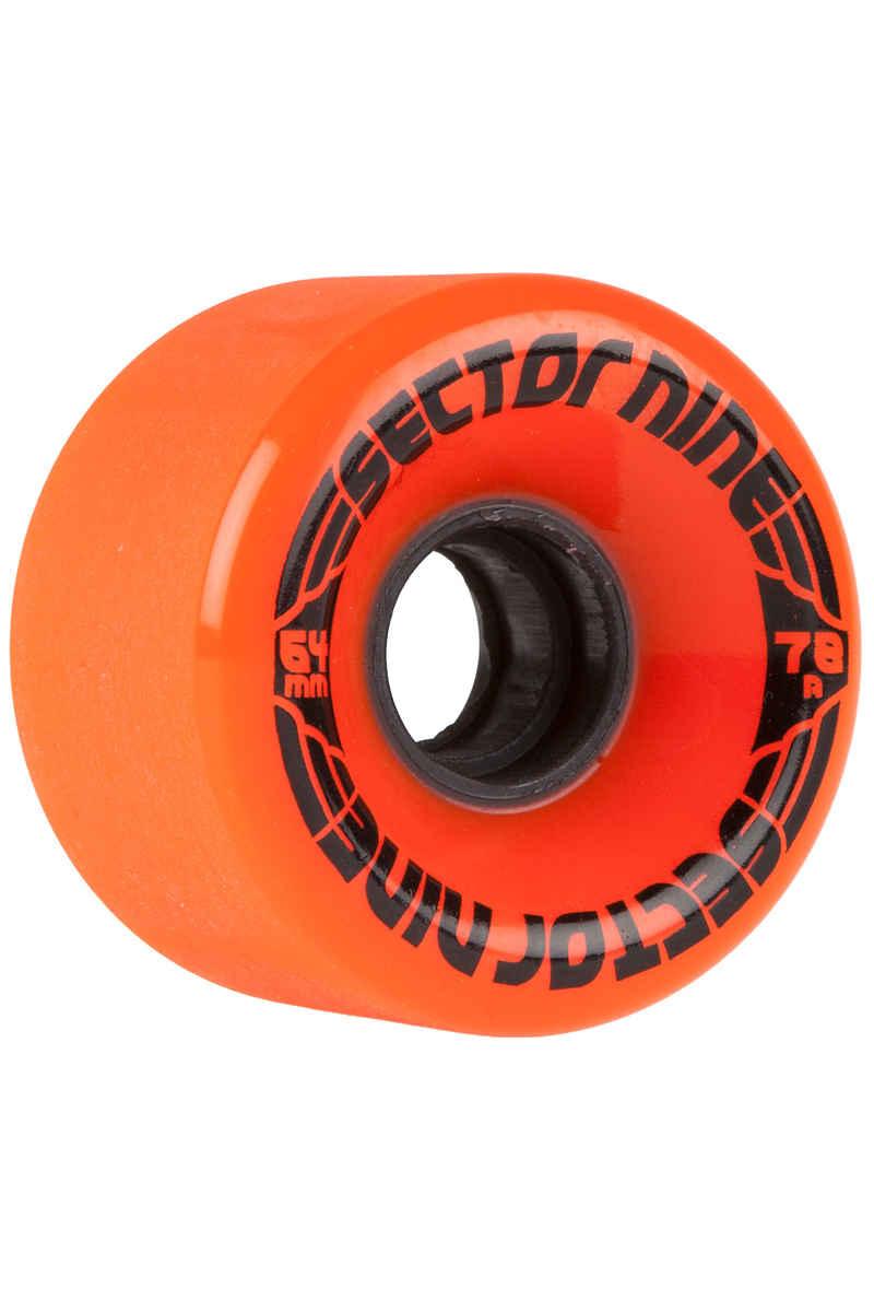 Sector 9 Nineballs CS Rueda (orange) Pack de 4 64mm 78A