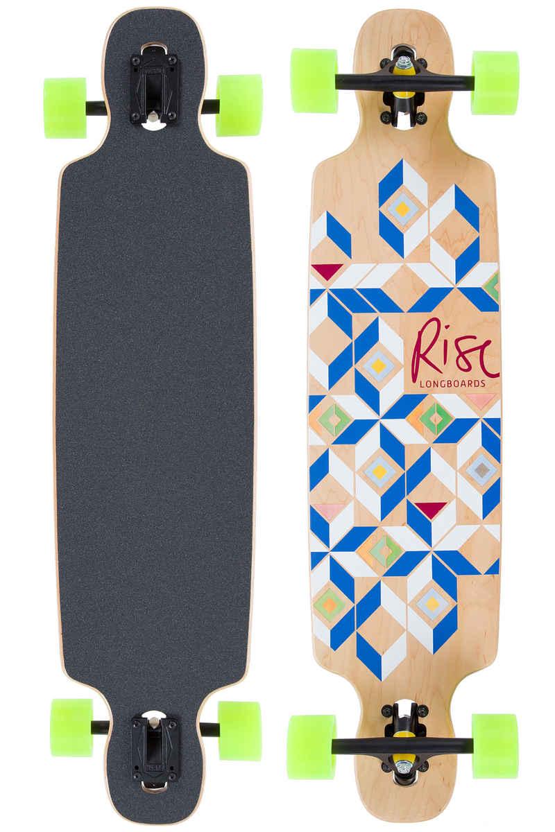 """Rise Mosaik 39"""" (99cm) Komplett-Longboard"""