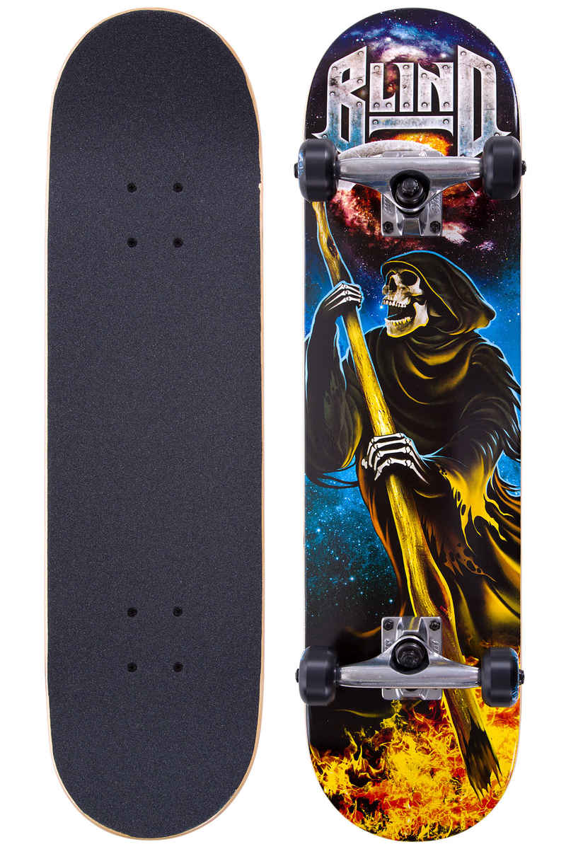 "Blind Reaper Attack 7.75"" Komplettboard (teal silver)"