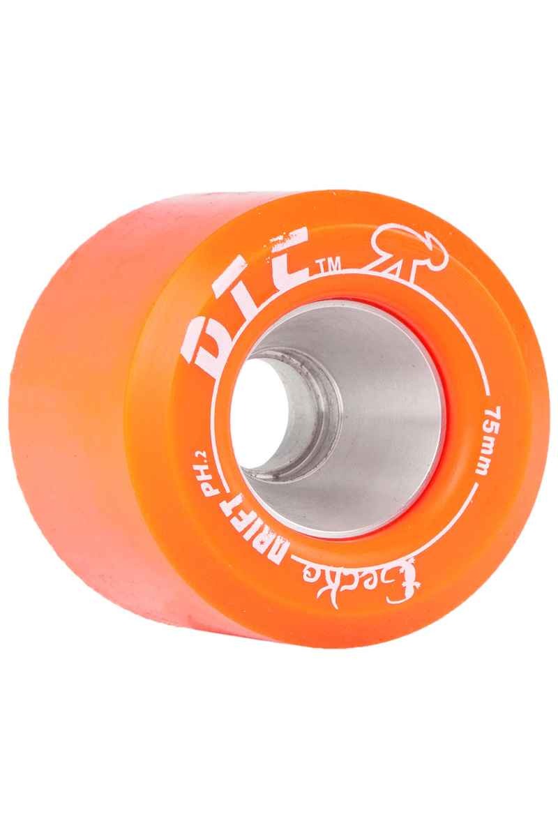 DTC Wheels Gecko DRIFT 75mm Wiel (orange) 4 Pack