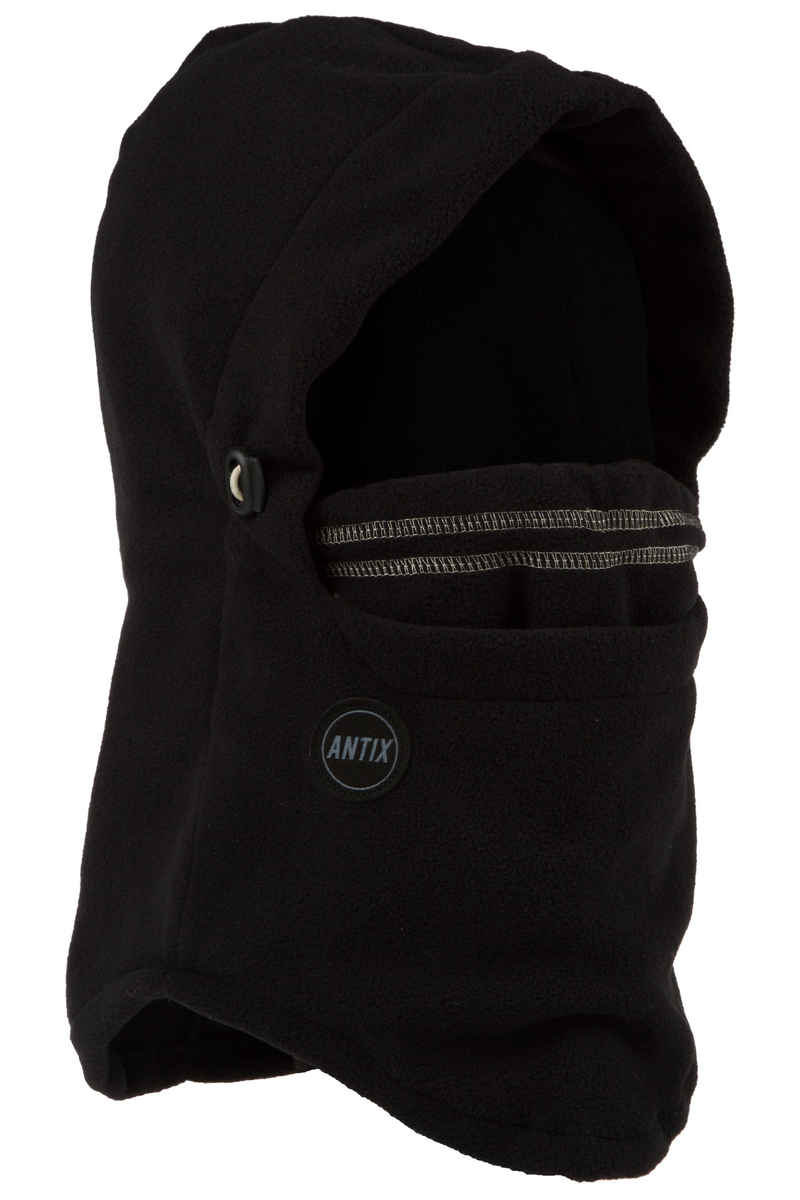 Antix Fleece Hood Neckwarmer (black)