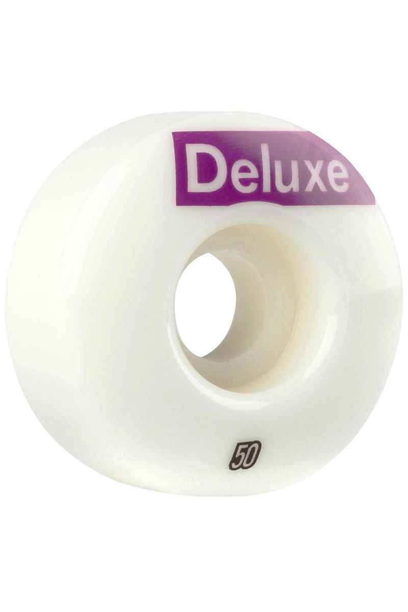SK8DLX AFS Deluxe Wheels (white) 50mm 100A 4 Pack