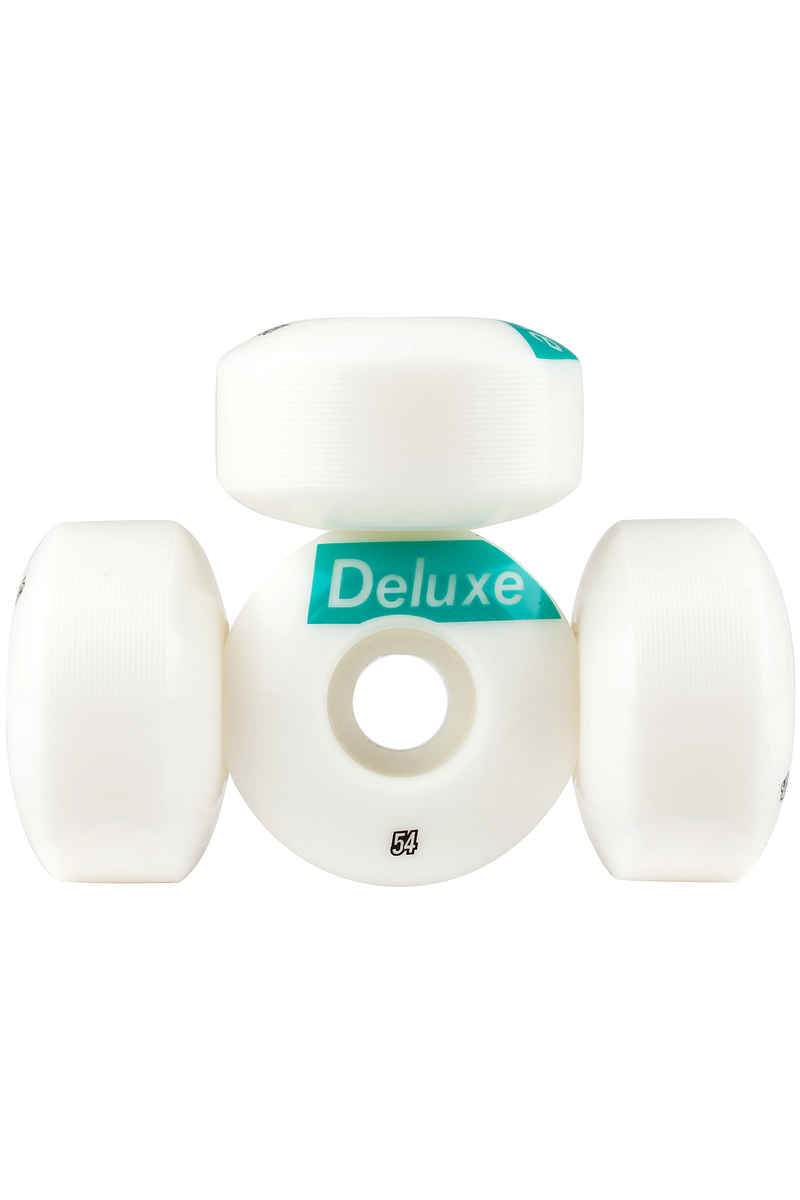 SK8DLX AFS Deluxe 54mm Wiel (white) 4 Pack