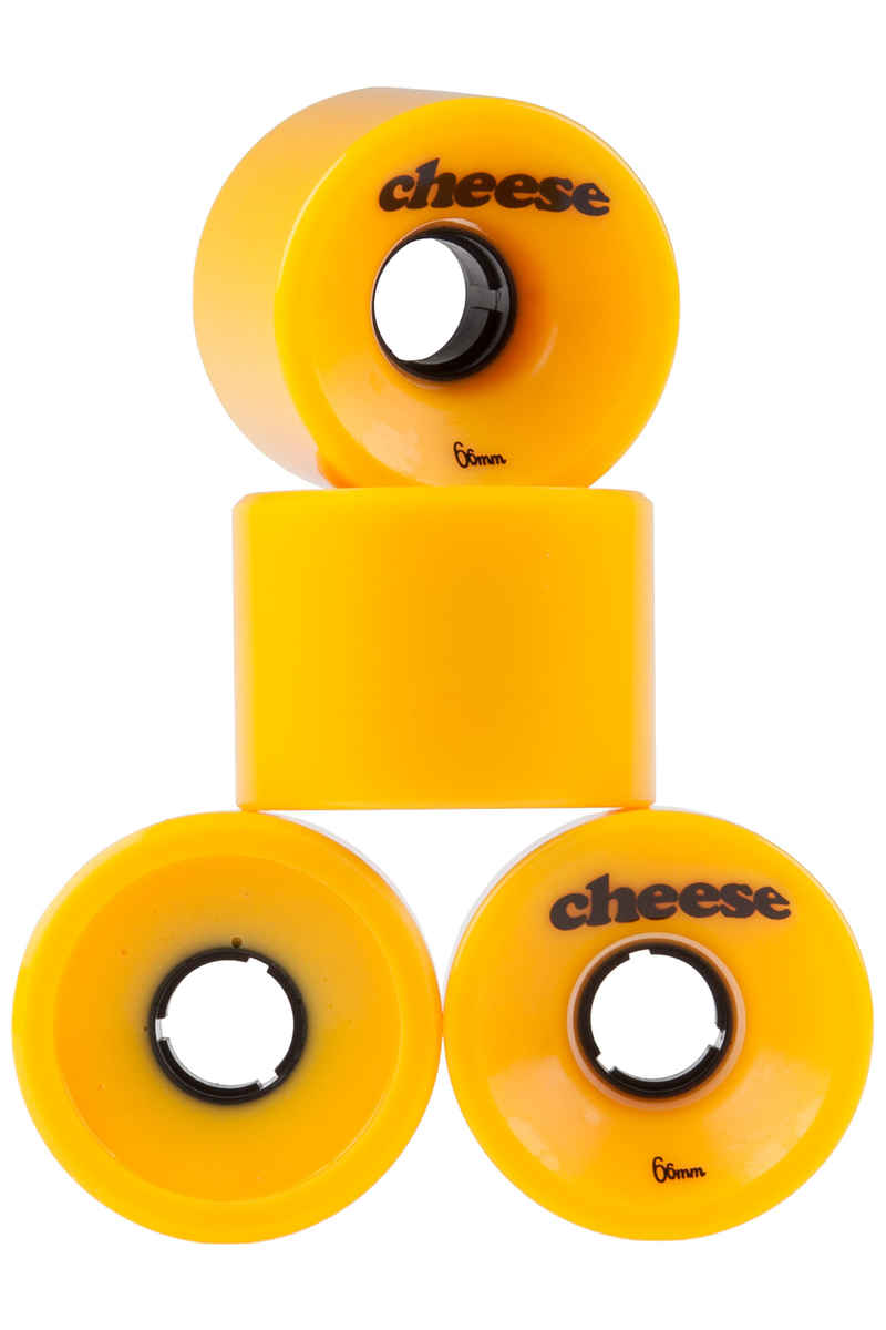 Cheese Gouda 66mm 78A Roue (yellow) 4 Pack