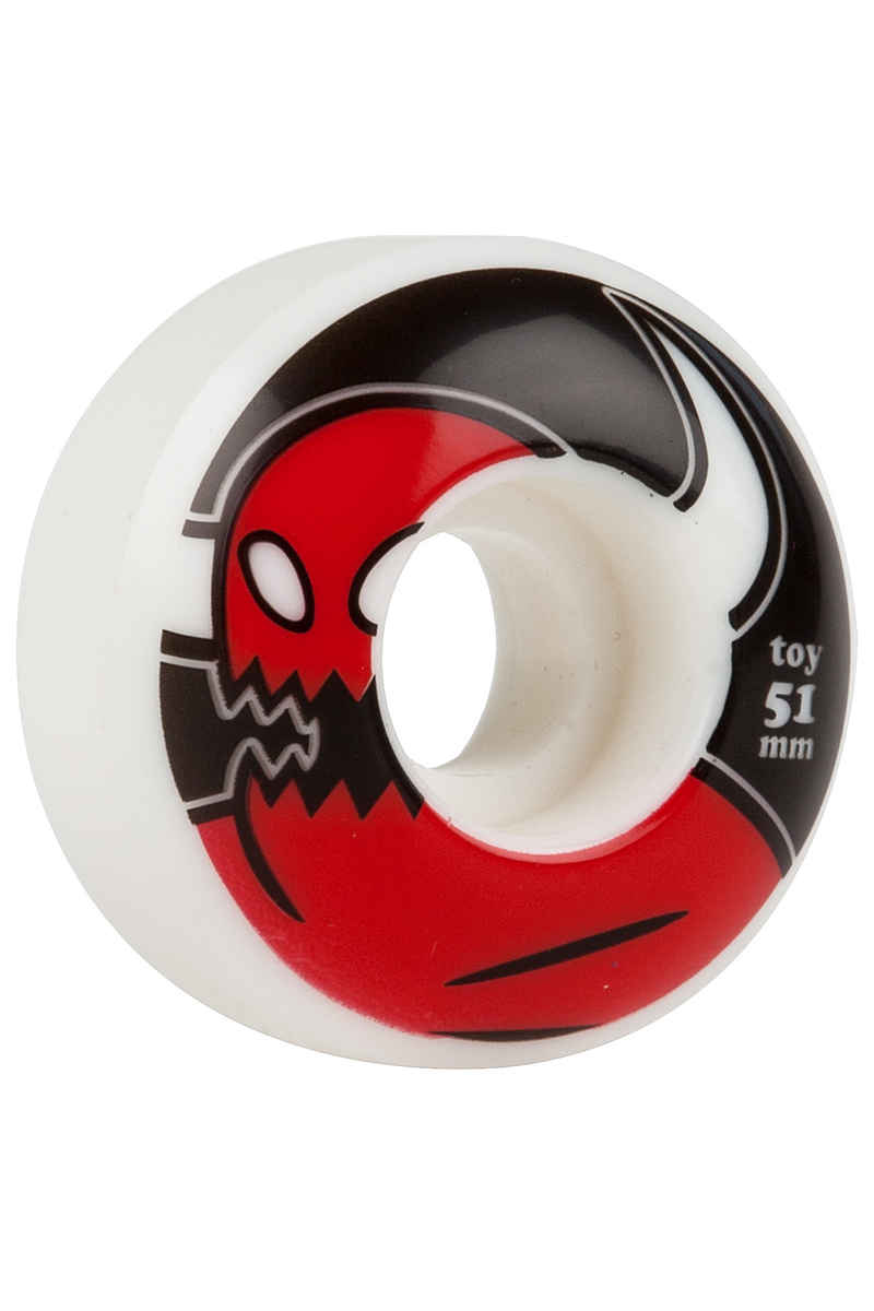 Toy Machine Monster 51mm Rollen (white) 4er Pack