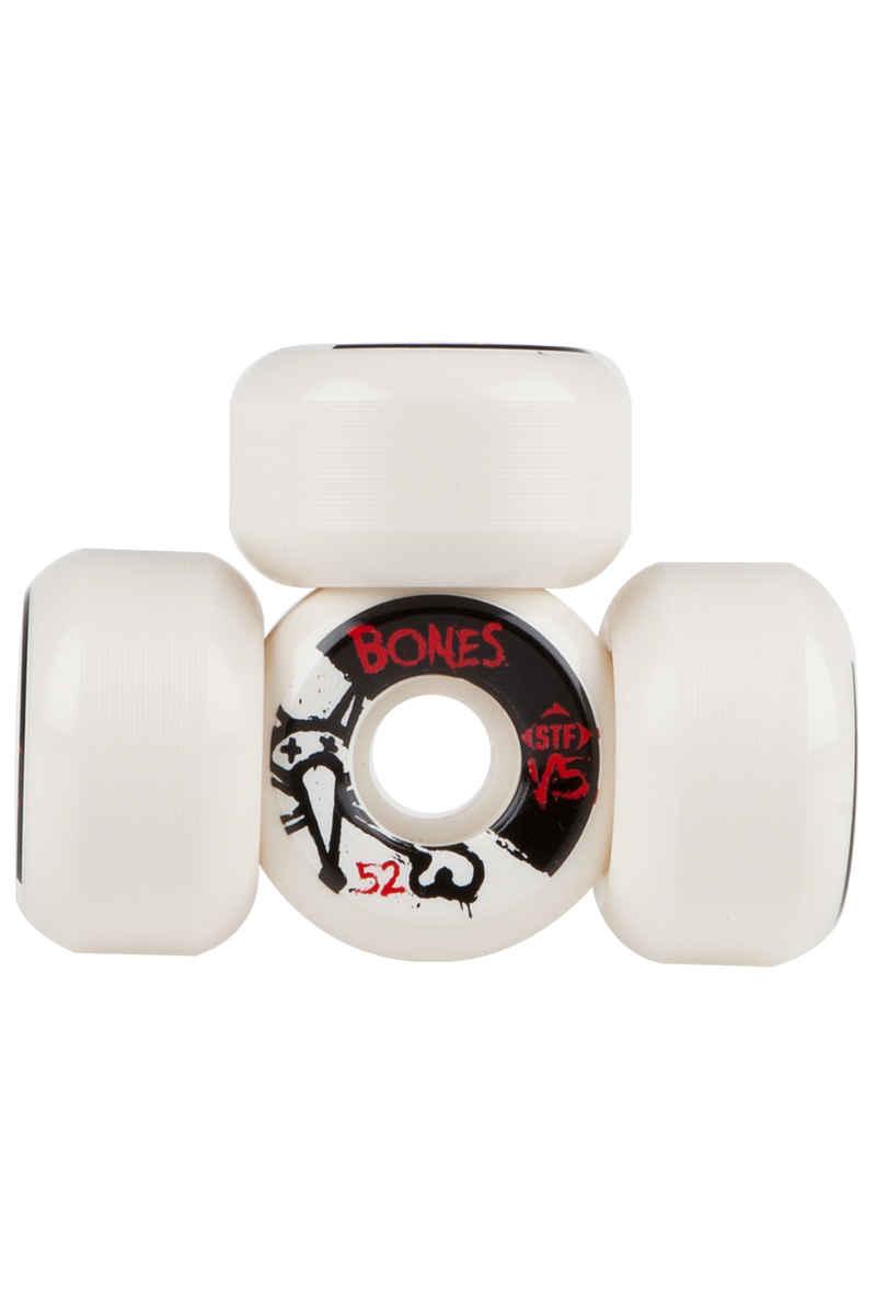 Bones STF-V5 Series II 52mm Roue (white) 4 Pack