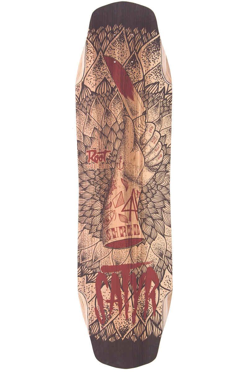 "Root Longboards Satyr 35"" (89cm) Longboard Deck 2016"