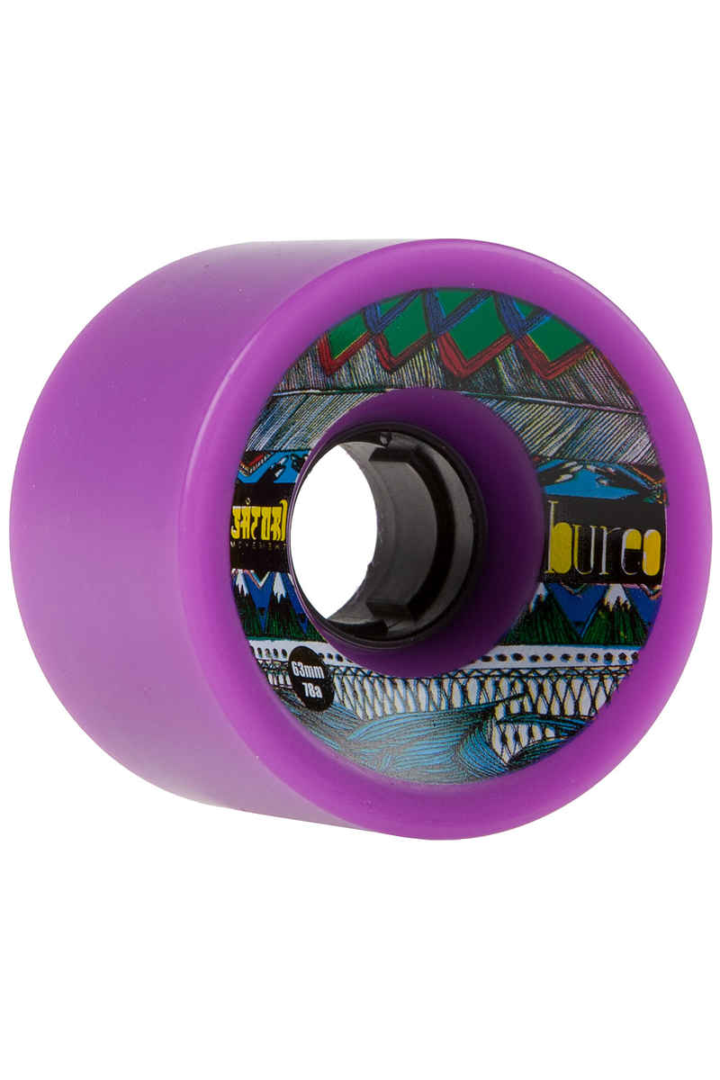 Bureo Satori Eco 63mm 78A Wheels (violet) 4 Pack