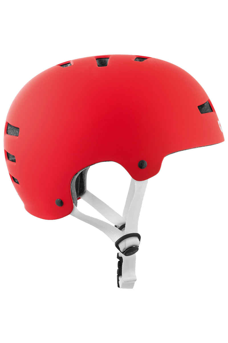 TSG Evolution-Solid-Colors Helmet (satin fire red)