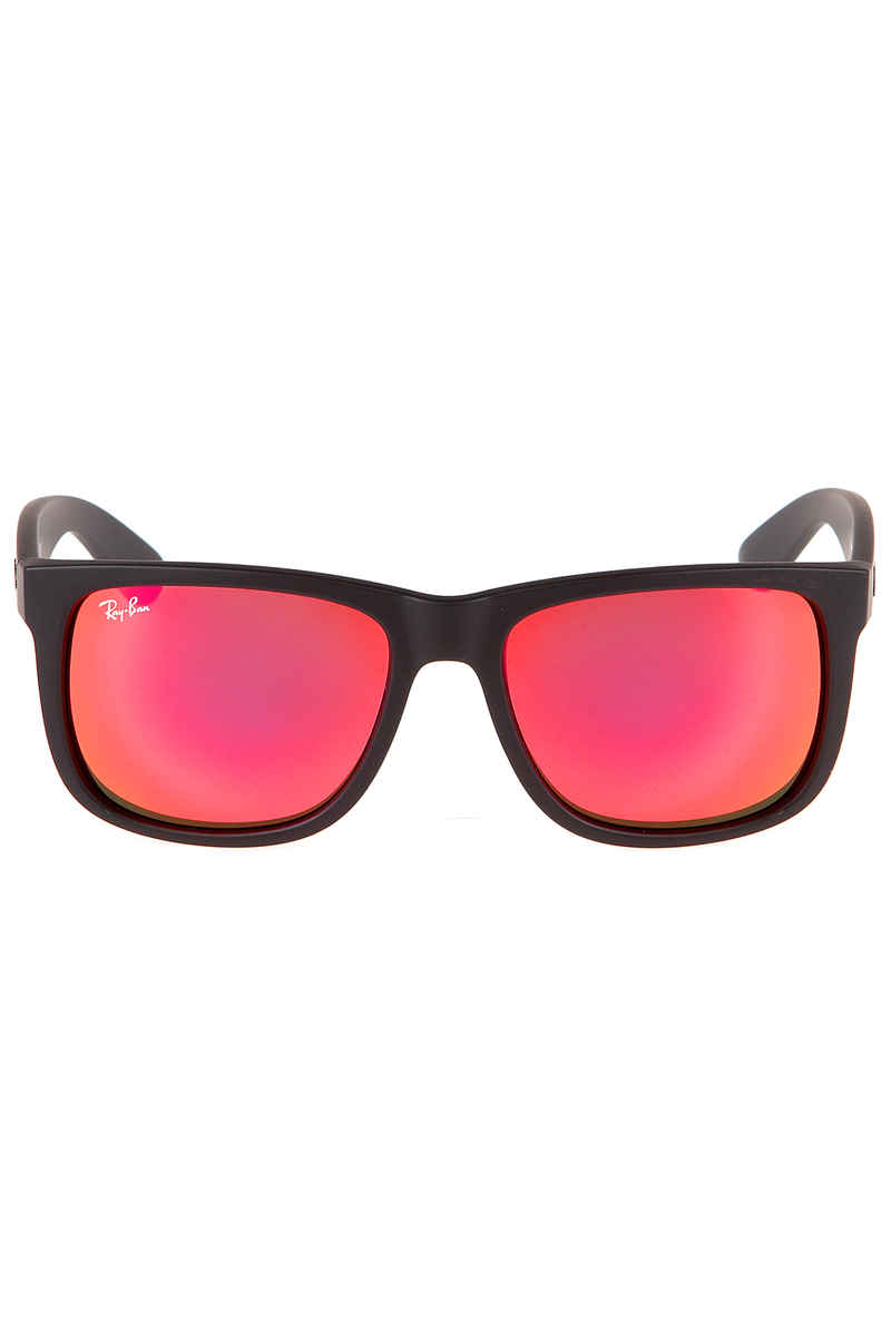Ray-Ban Justin Sunglasses 55mm (rubber black orange)
