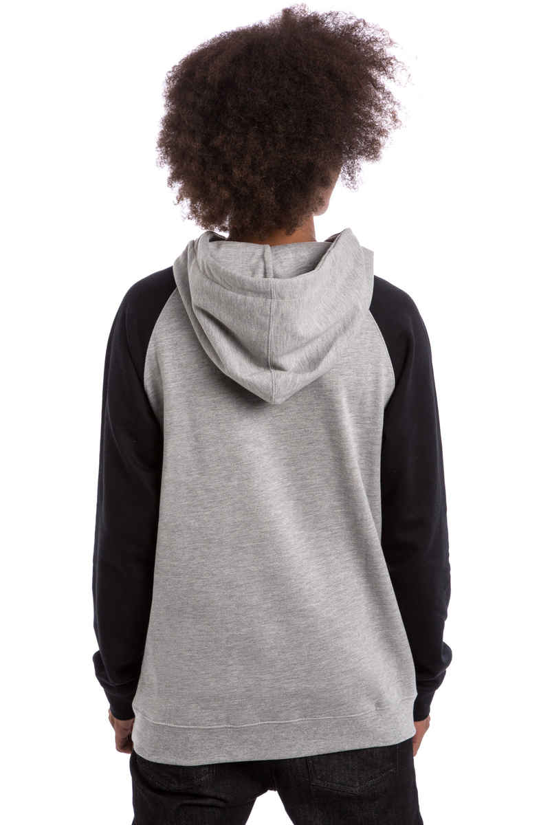 SK8DLX Easy Raglan Hoodie (black heather grey)