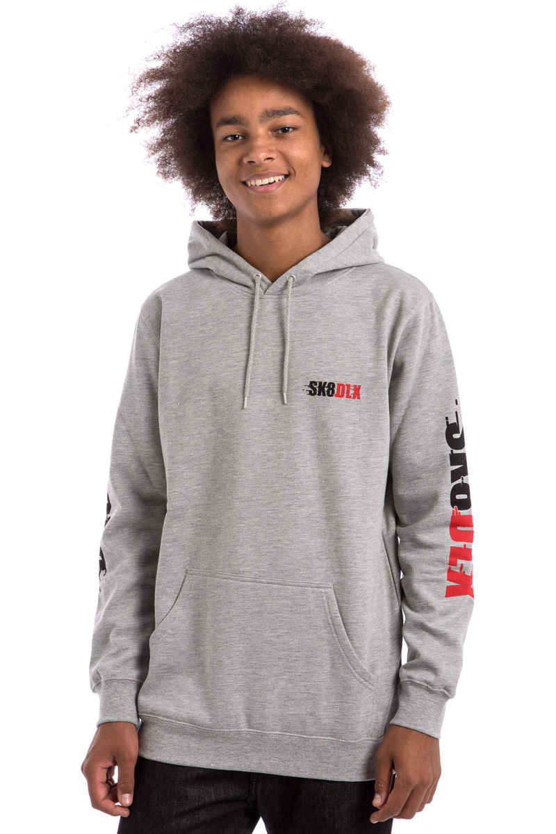 SK8DLX Racer sweat à capuche (heather grey)