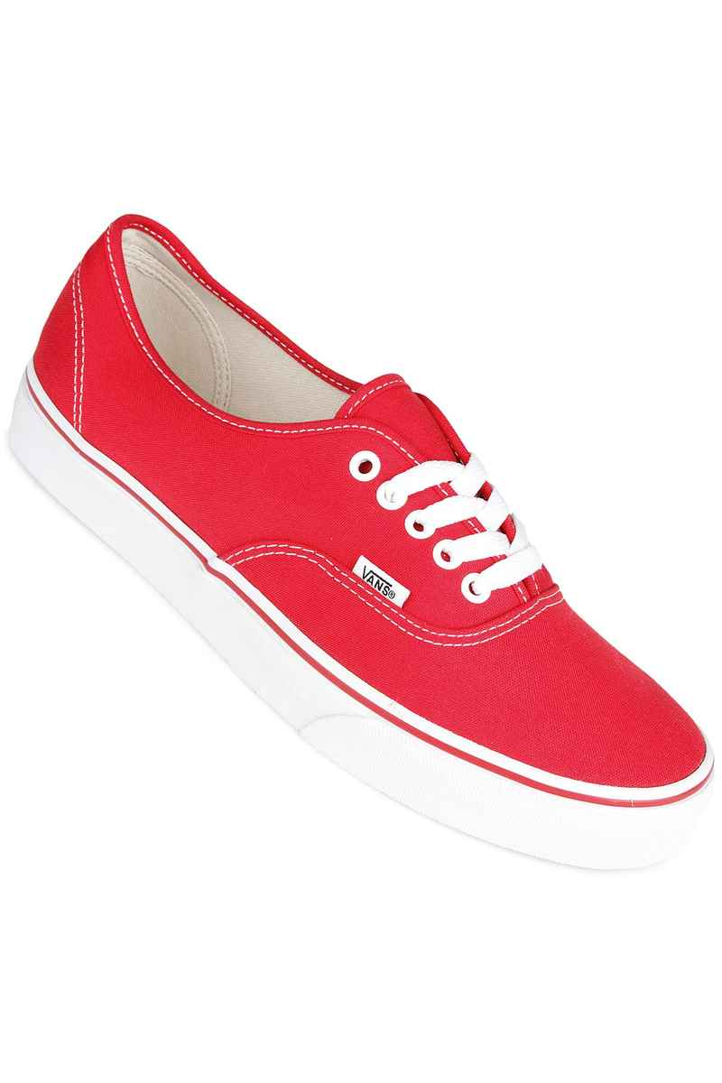 Vans Authentic Shoe (red)