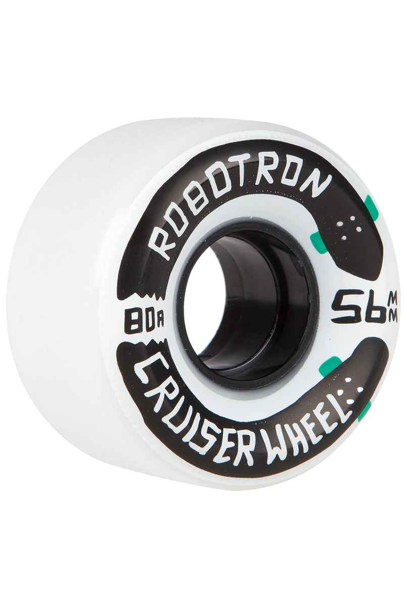Robotron Cruiser Rueda (white) 56mm Pack de 4 80A