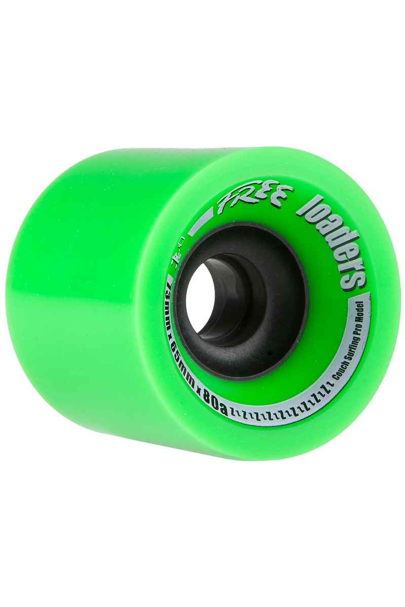 Free Wheels Loaders 73mm 80A Rueda (green) Pack de 4