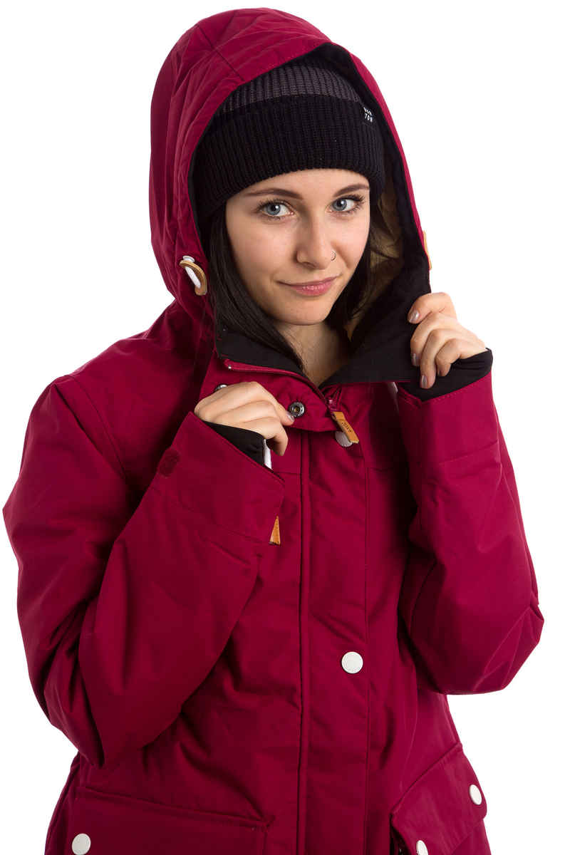 WearColour Ida Snowboard Jacke women (burgundy)