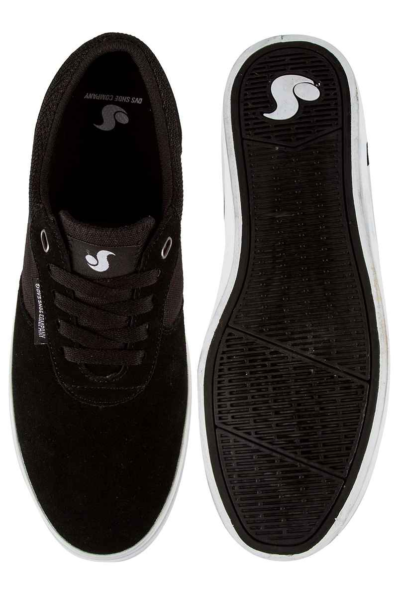 DVS Merced Suede Shoes (black white)