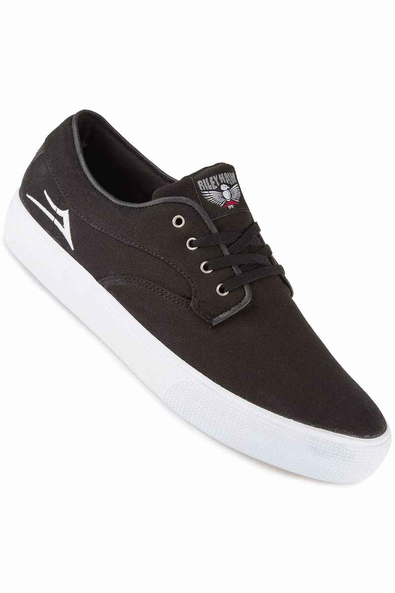 Lakai Riley Hawk Canvas Schoen (black)