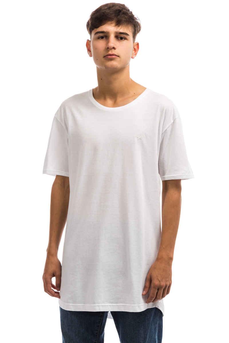 Cleptomanicx Ligull Long 2 T-Shirt (white)
