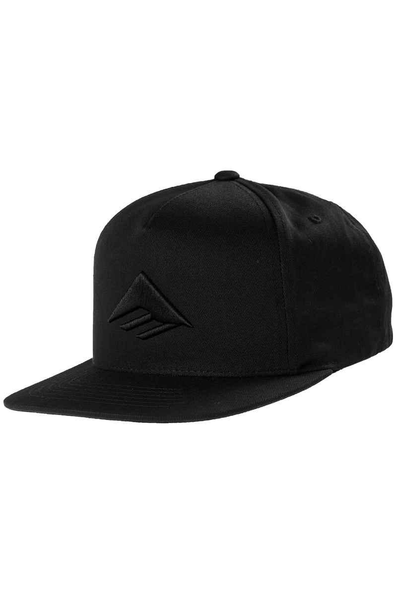 Emerica Triangle Snapback Cap (black)