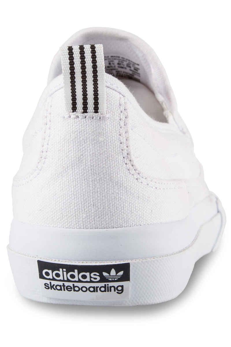 adidas Matchcourt Slip Shoes (white white white)