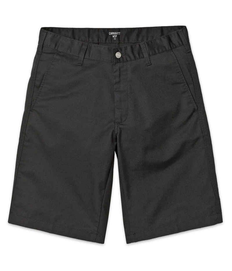 Carhartt WIP Presenter Dunmore Shorts (black rinsed)