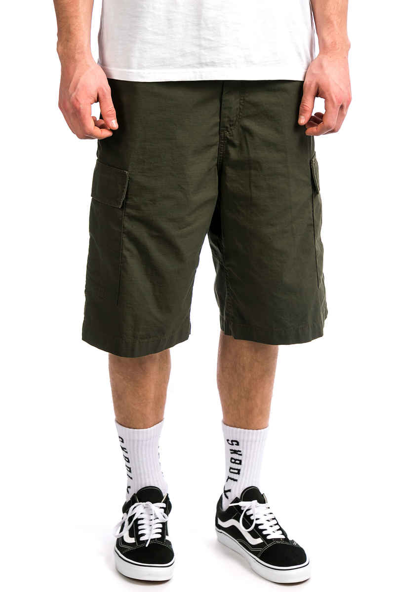 Carhartt WIP Cargo Columbia Shorts (cypress rinsed)