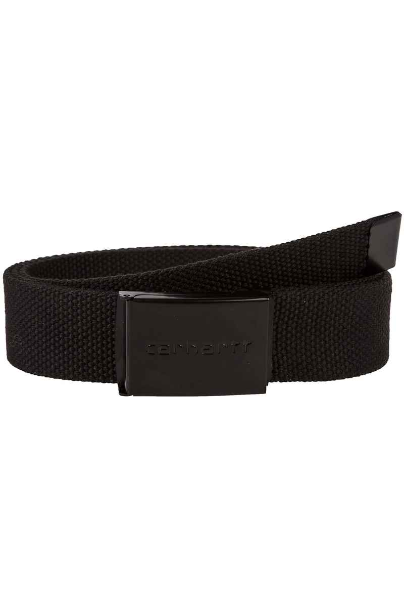 Carhartt WIP Clip Tonal Riem (black)