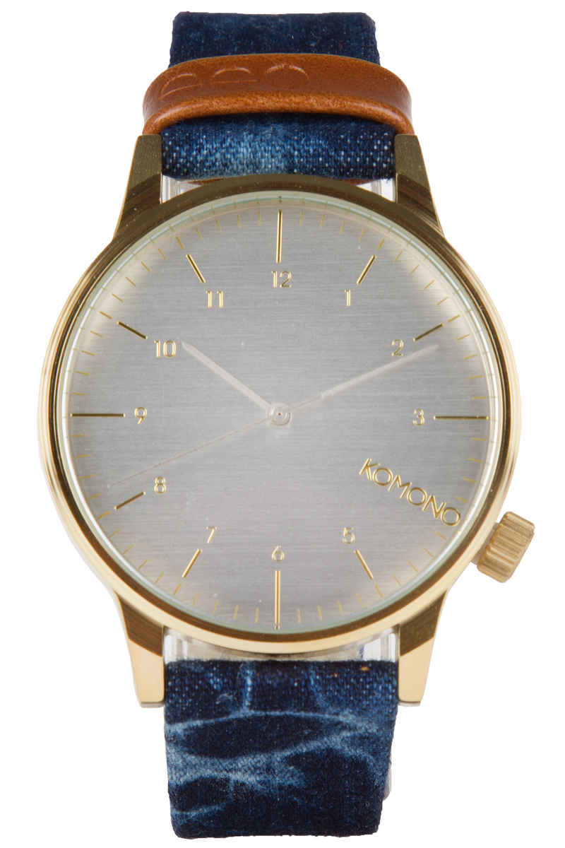 Komono Winston Heritage Watch (indigo denim)