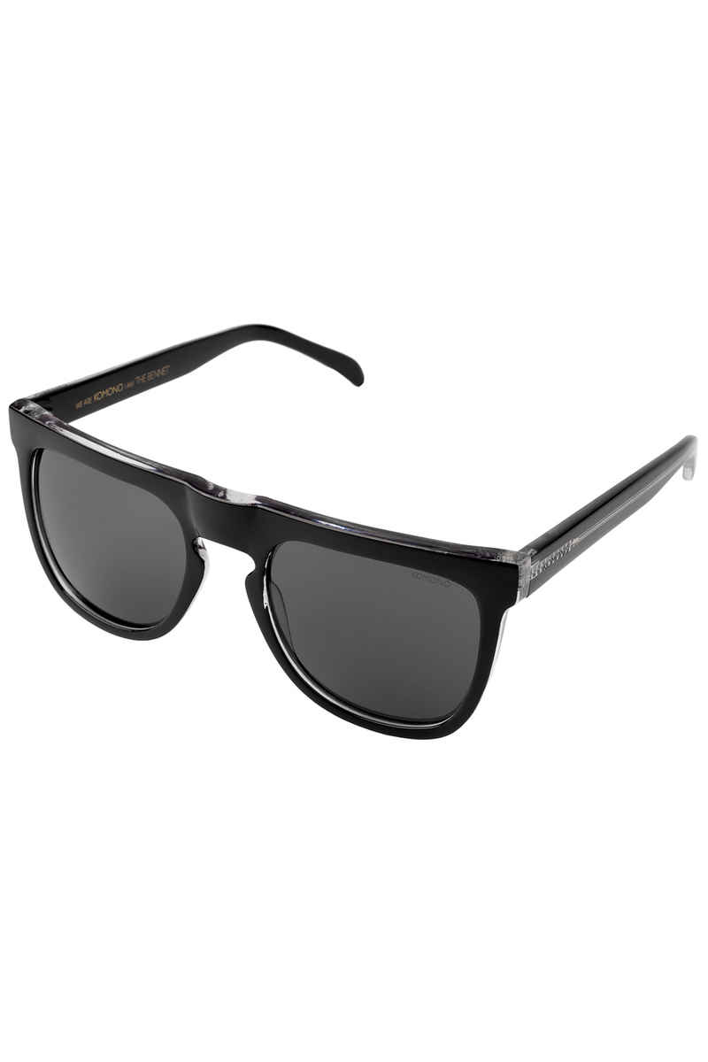 Komono Bennet Sunglasses (black transparent)
