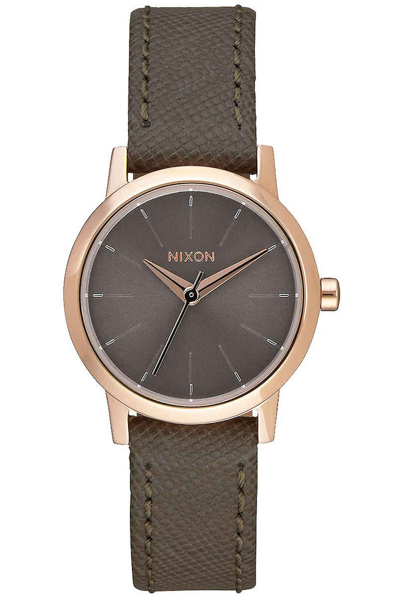 Nixon The Kenzi Leather Montre women (rose gold taupe)