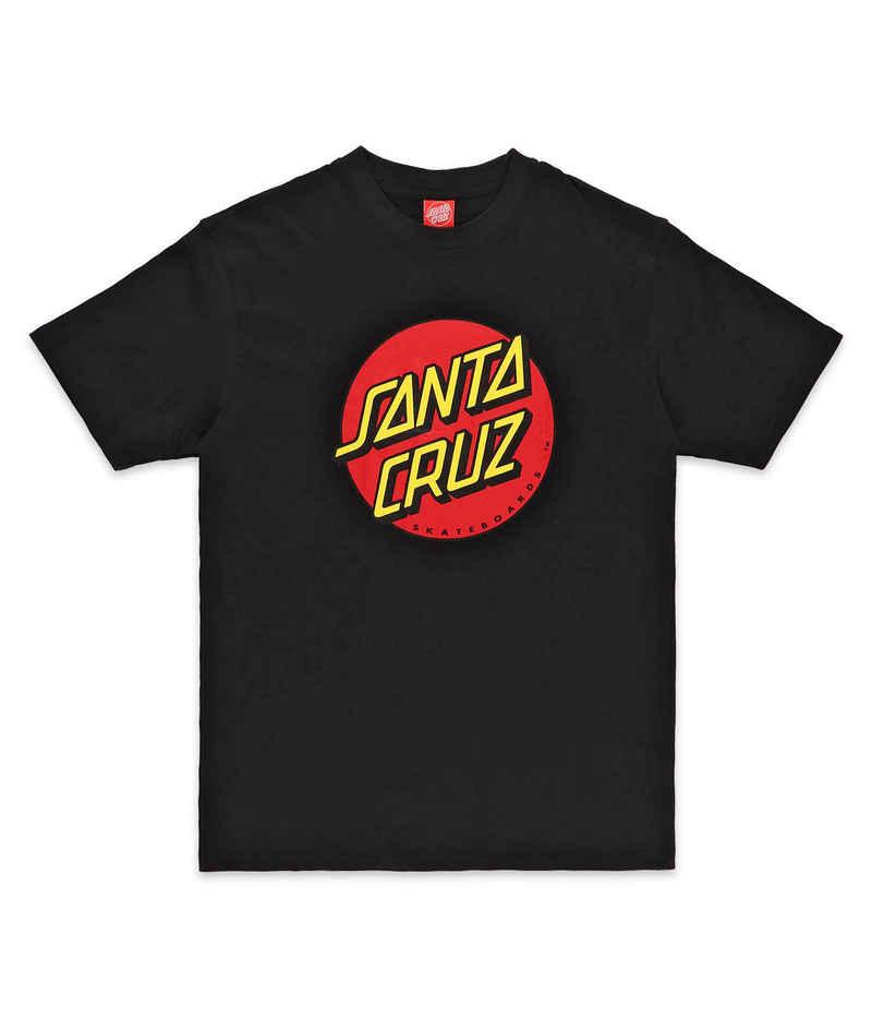 Santa Cruz Classic Dot Camiseta (black)