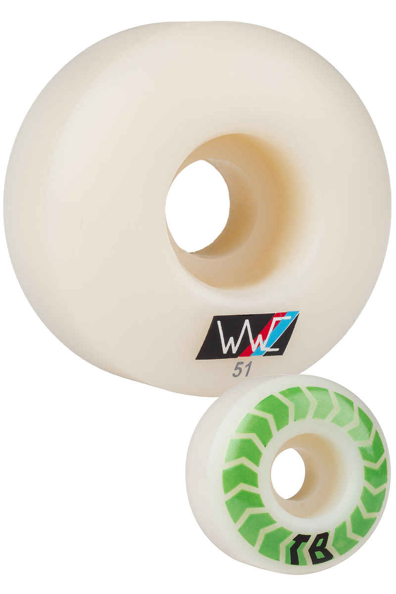 Wayward Bledsoe Chevrons Slim Wheels 51mm 100A 4 Pack