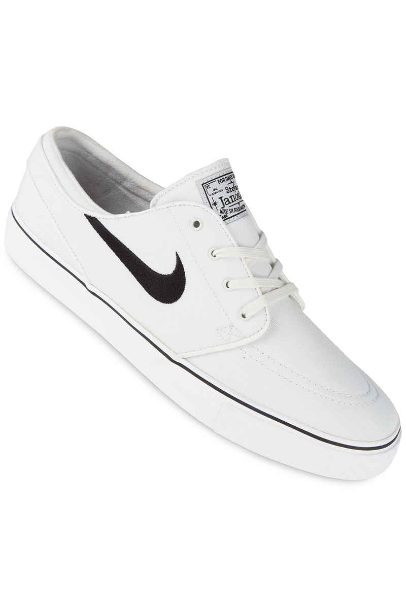 Nike SB Zoom Stefan Janoski Canvas Zapatilla (summit white black)