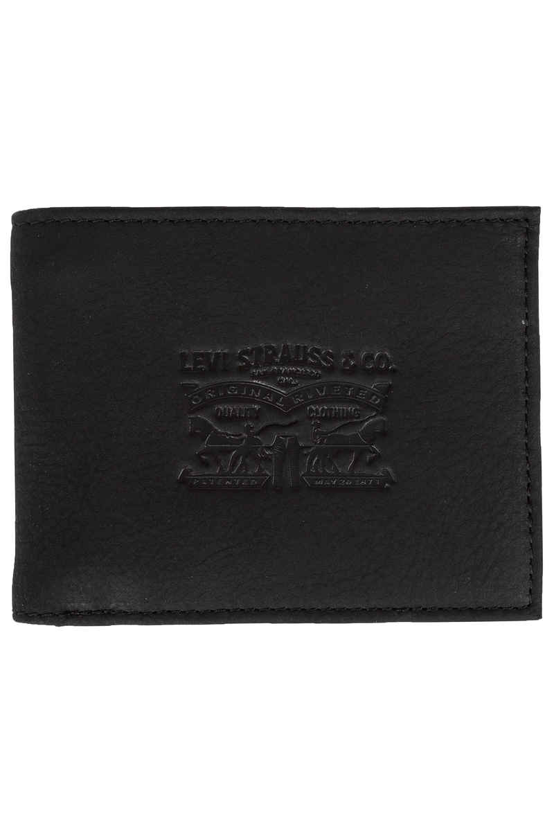 Levi's Vintage Two Horse Bifold Portefeuille (regular black)