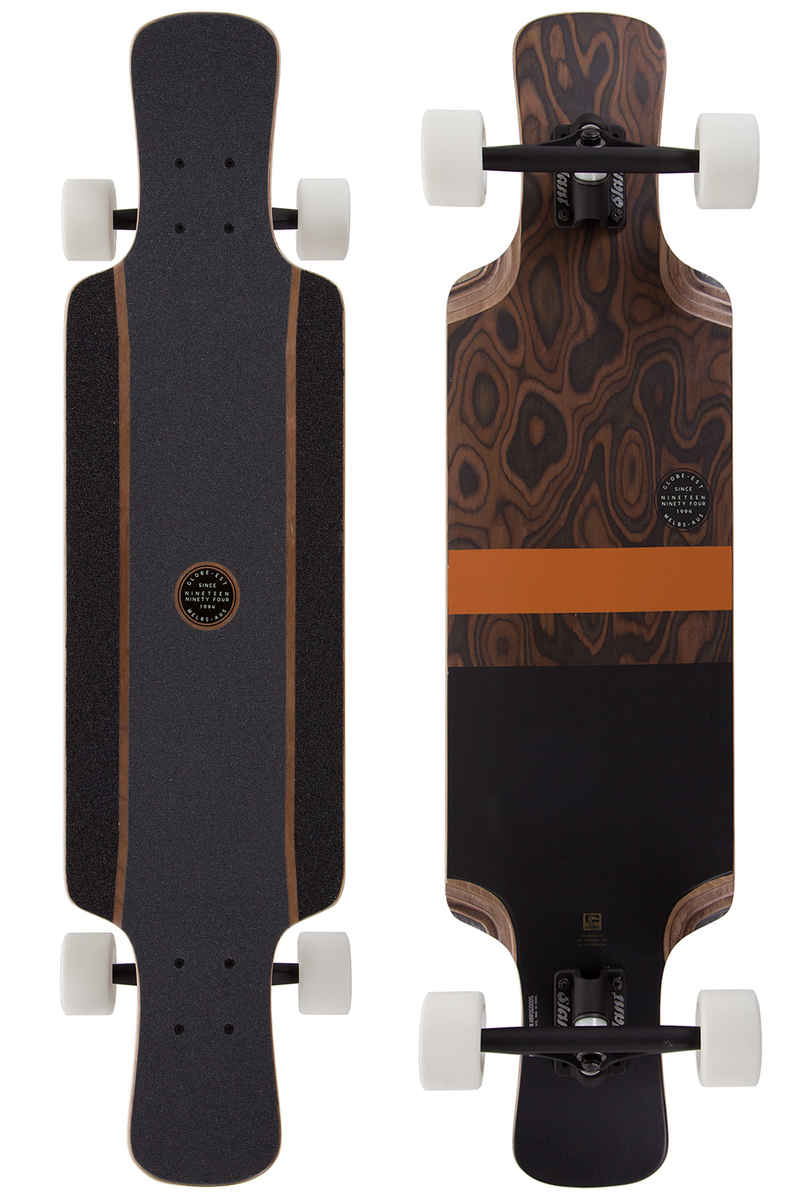 "Globe Geminon Kick 37,5"" (95,25cm) Longboard-completo (burle black)"