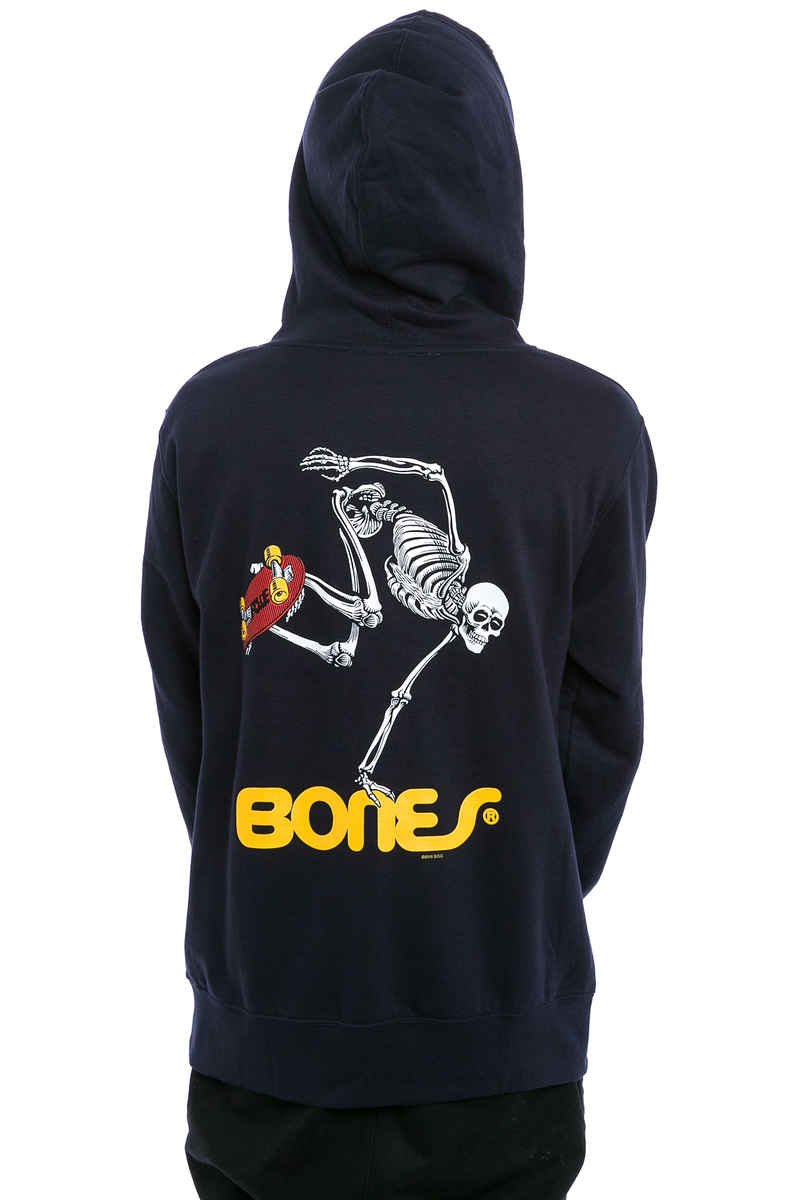 Powell-Peralta Skating Skeleton sweat à capuche (navy)