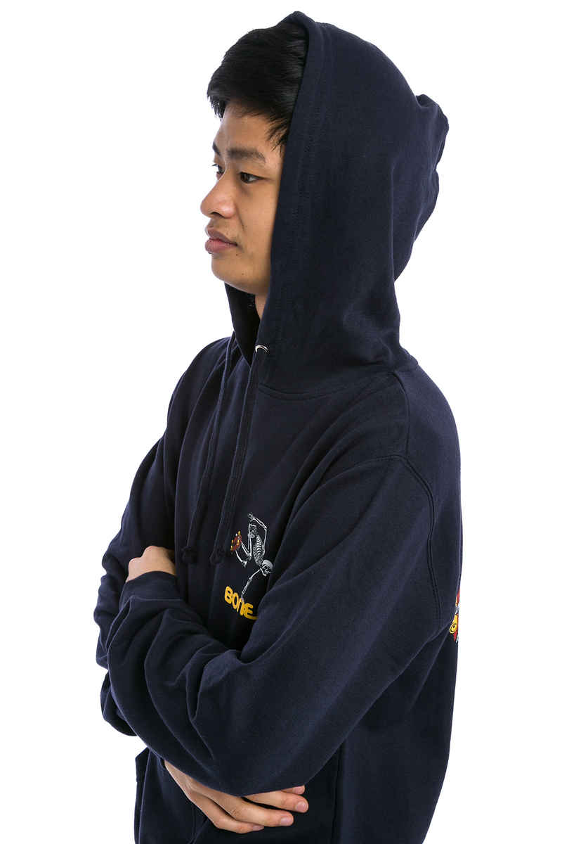 Powell-Peralta Skating Skeleton Hoodie (navy)