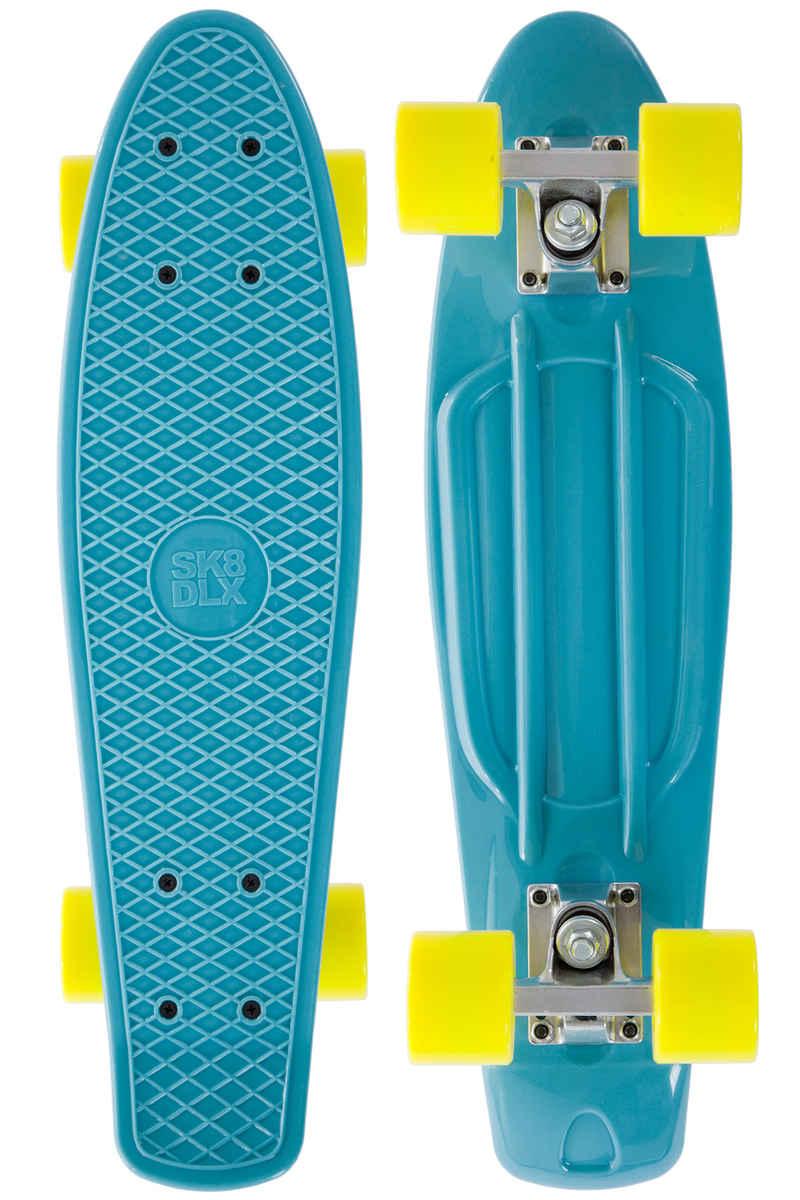 "SK8DLX Asphalt 22"" Cruiser (pastel blue yellow)"
