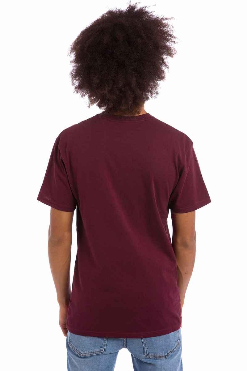 Vans Classic T-Shirt (burgundy white)