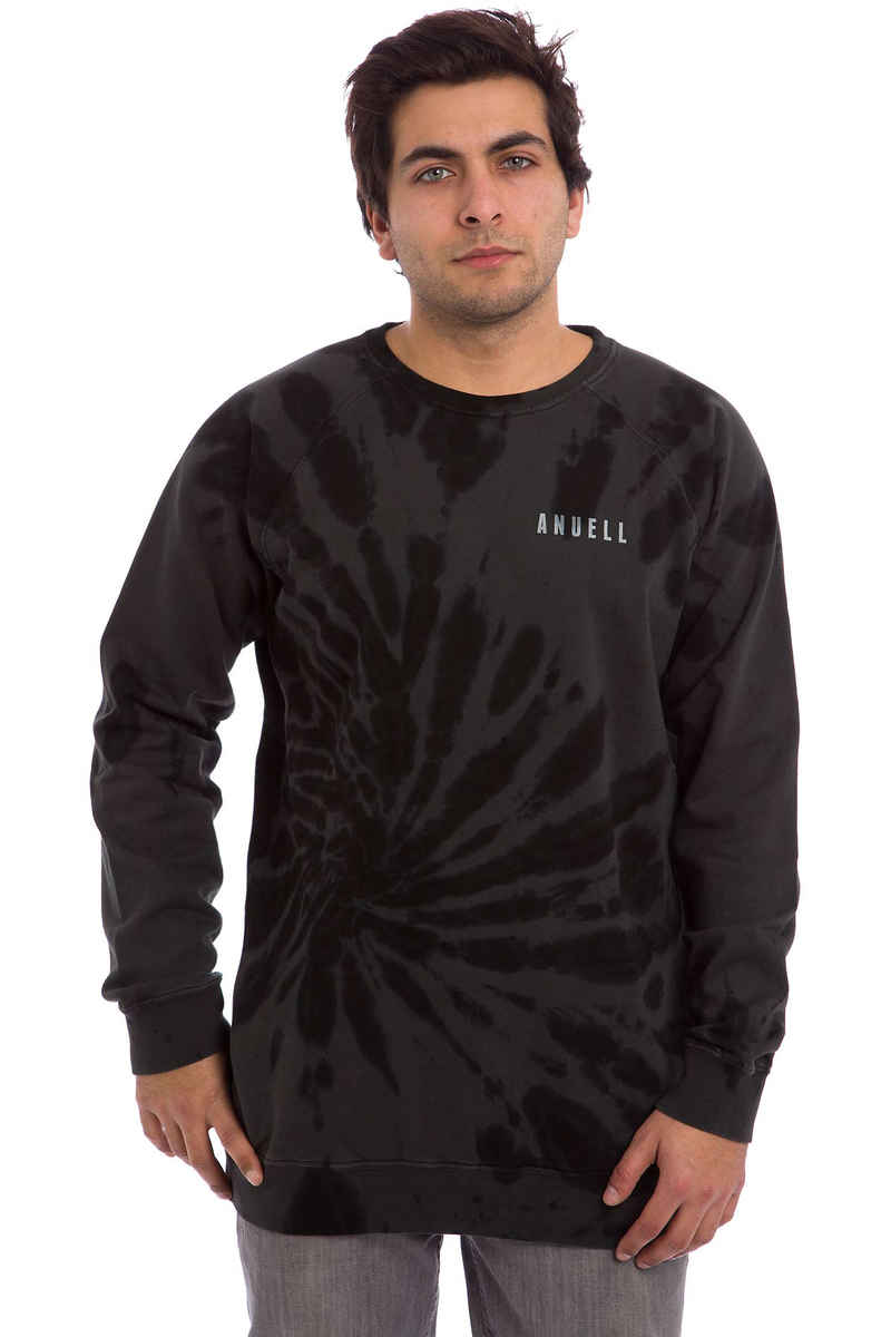 Anuell Clake Sweater (black tie dye)